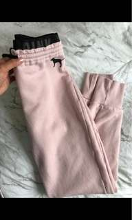 PINK  high wasted joggers