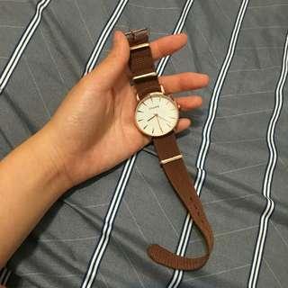 Ulzzang咖帶手錶