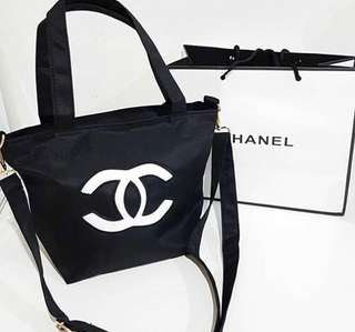 Chanel sequins white pearl authentic gift