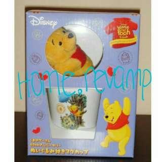 🚉Brand New In Box Authentic Disney Winnie The Pooh Gift Set - Mug + Plush Soft Toy