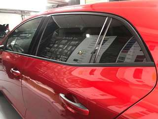 Renuault megane gt window trim dechrome