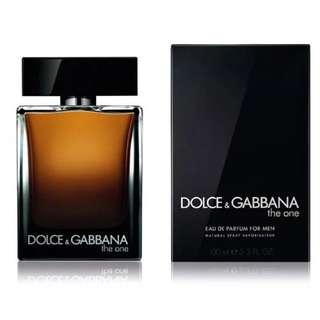 D&G The One EDP for Men Perfume (100ml/Tester) Dolce & Gabbana