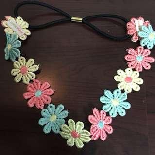 floral bandana/headband