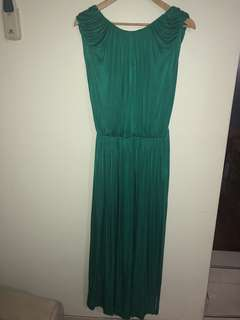 MNG backless dress size M