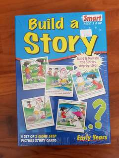 Build a Story Sequencing Cards