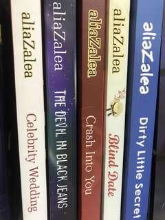 210 dapet 5 buku Aliazalea collection
