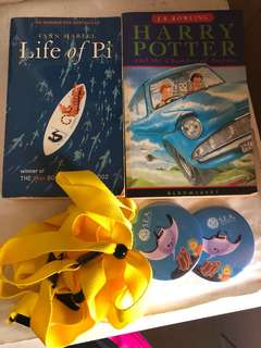Life of pi and Harry Potter