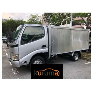 DYNA LORRY FOR RENT