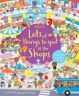 🚚 [FREE MAIL]Usborne lots of things to spot at the shops