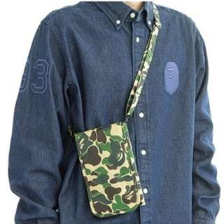 Instock! Bape Camo Passport Holder / Travel Organizer with Sling (Green) ASC3261 *Jap Magazine GWP*  + FREE Post