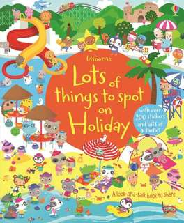 [FREE MAIL]Usborne lots of things to spot on holiday