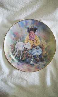 "Vintage The Leonardo Collection Decorative Plate ""Down On The Farm"" by Christine Haworth"