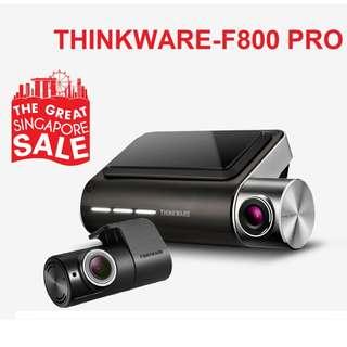 [Authorised Dealer] GSS 2018 THINKWARE F800 Pro 2ch Wifi Korean No.1 Free Installation Dashcam Car Cam Camera Dvr Blackbox