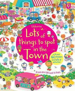 [FREE MAIL]Usborne lots of things to spot in the town