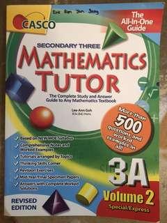 Secondary 3 Maths Guide Book
