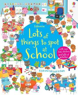 [FREE MAIL]Usborne lots of things to spot at school