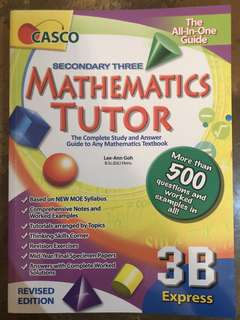 Secondary 3 Maths Guide Book
