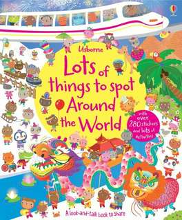 [FREE MAIL]Usborne lots of things to spot around the world