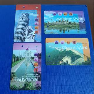 Wonders of the World MRT Card