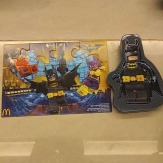 Batman n robin puzzle with case