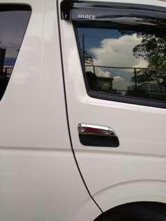 Toyota Hiace invisible car door edge guard bumper