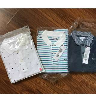 boy's polo shirts bnew all original from the store