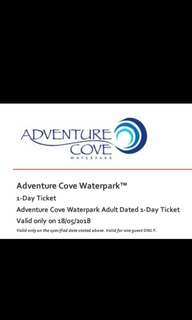 Adventure Cove Waterpark Adult 1-Day E-Ticket, 18 May 2018