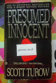 *FREE* Presumed Innocent by Scott Turow