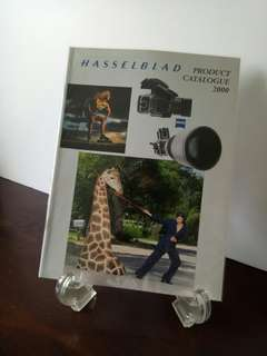Hasselblad product  catalogue