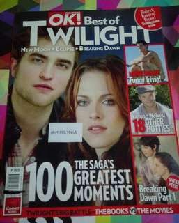 *FREE* OK! Magazine Best of Twilight
