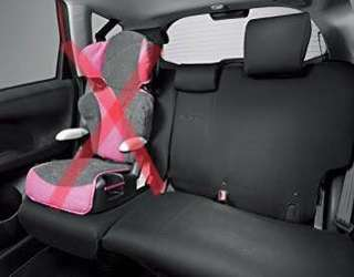 STOCK Honda BRV Fabric Car Seat Cover - BLACK