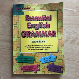 To Bless : Primary level - Essential English Grammar (Used)