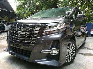 UNREGISTERED~ Toyota Alphard SC 2.5 (A) Year 2016 ~ Pilot seat / Power Boot