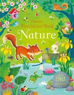 BN Usborne first sticker book NATURE