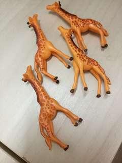 🆕 giraffe figurines for terrarium