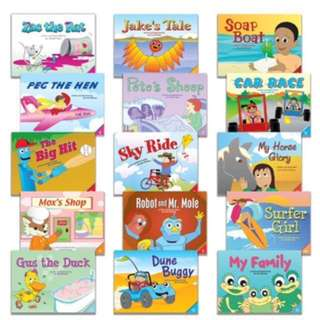Brand New Starfall Learn To Read 15 phonics books