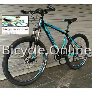 "TRINX Aluminum 26"" Mountain Bike / MTB ✩ Shimano 21 Speeds, Disc brakes, front suspension ✩ Brand new bicycles"