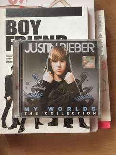 Justin Bieber My Worlds Collection