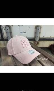 🚚 New Era caps 麂皮粉色