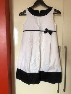 Zara Kids B&W party dress