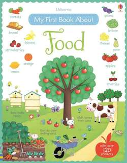 BN Usborne my first book about FOOD