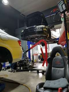 Basic servicing $38nett with 5w40 fully synthetic engine oil