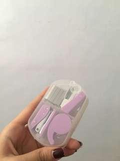 Stapler, Puncher, Tape travel size