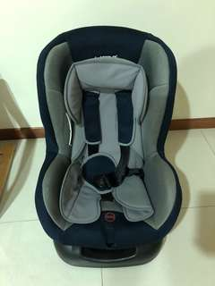 Preowned baby car seat