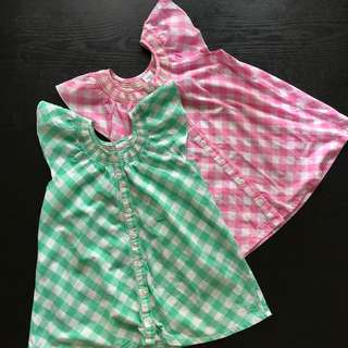Girl's blouses from Australia 5 to 9yo