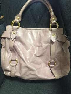 Miu Miu 手袋 粉紅 粉紫 可上膊