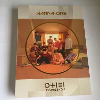 WANNA ONE I PROMISE YOU DAY VER. ALBUM WITH GROUP TAZO