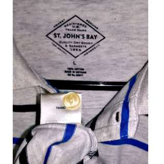 St. John's Bay Collared Shirt
