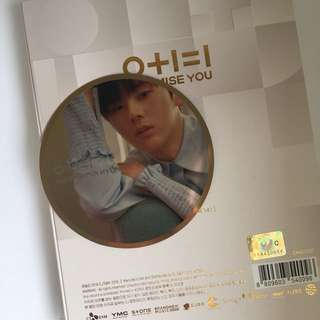 WANNA ONE I Promise You MINHYUN Day Ver Mirror Card