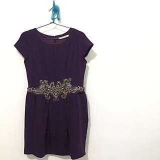Minimal Purple Dress
